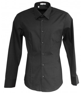business shirt in black